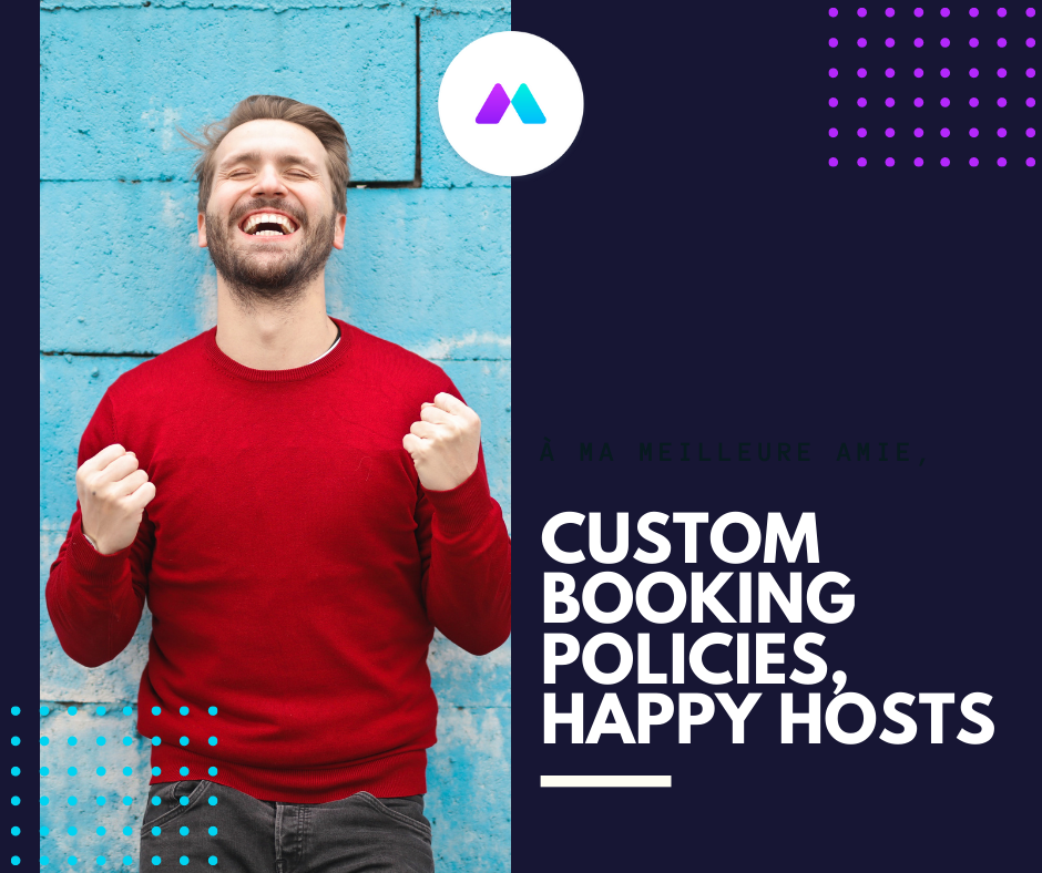 [New Feature] Set Your Own Booking Policies